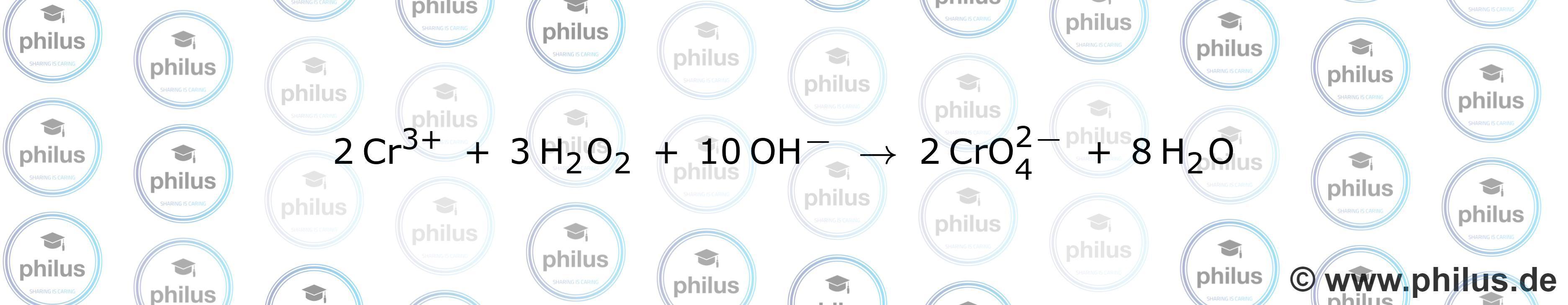 alkalischer Sturz mit dreiwertigen Chromionen