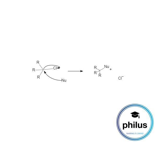 allgemeine nucleophile Substituionsreaktion