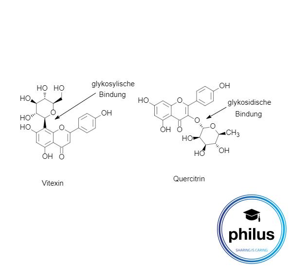 Vergleich von glykosidischer und glykosylischer Bindung
