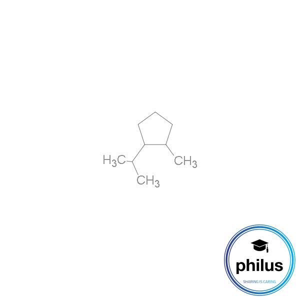 1-Methyl-2-(1-methylethyl)cyclopentan