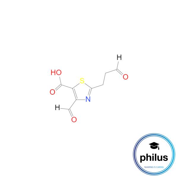 4-Formyl-2-(3-oxopropyl)-1,3-thiazol-5-carbanon